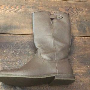 Gap Kids Dark Brown Boots Kids Size 4/ Women's 6
